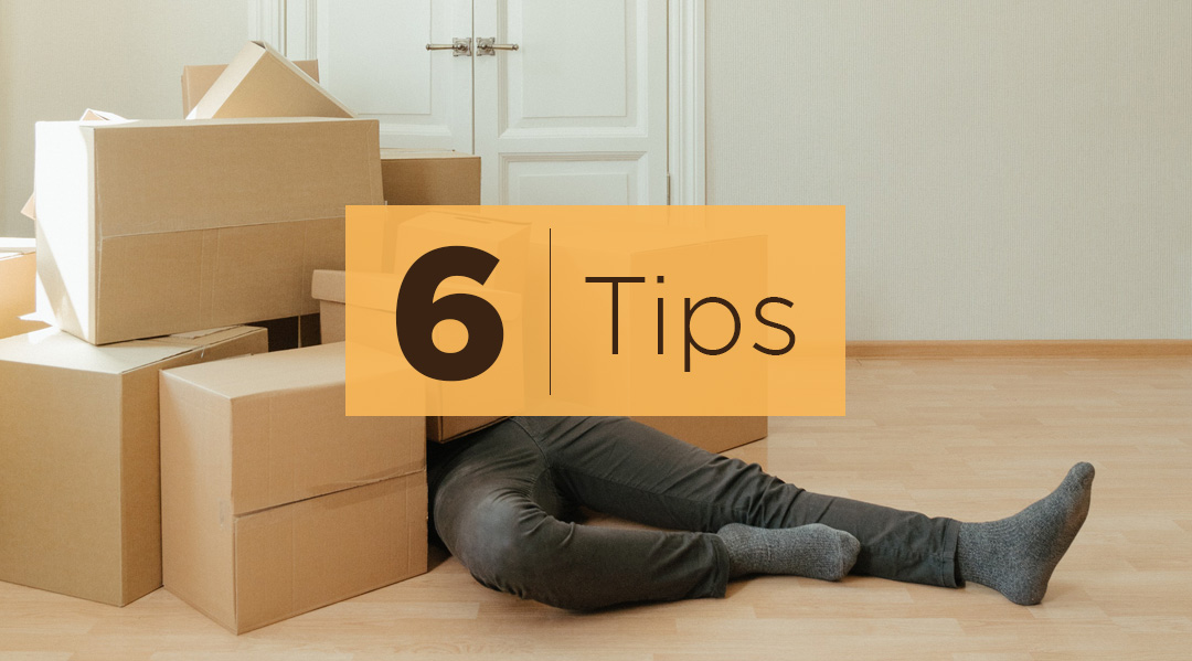 6 TIPS ON DEALING WITH THE STRESS OF MOVING INTO A NEW HOME